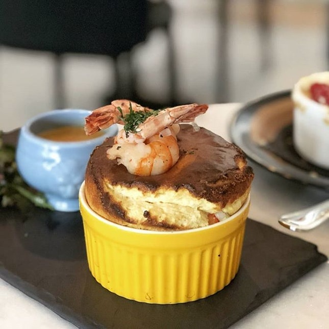 For Date Night Fluffy Souffles
