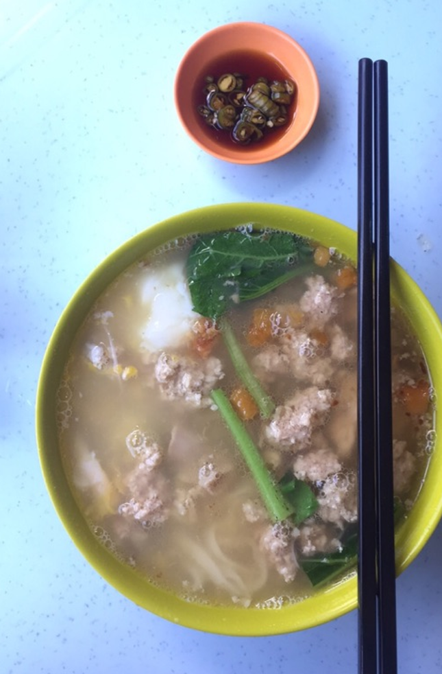 For Comforting Pork Noodles in Dataran Sunway