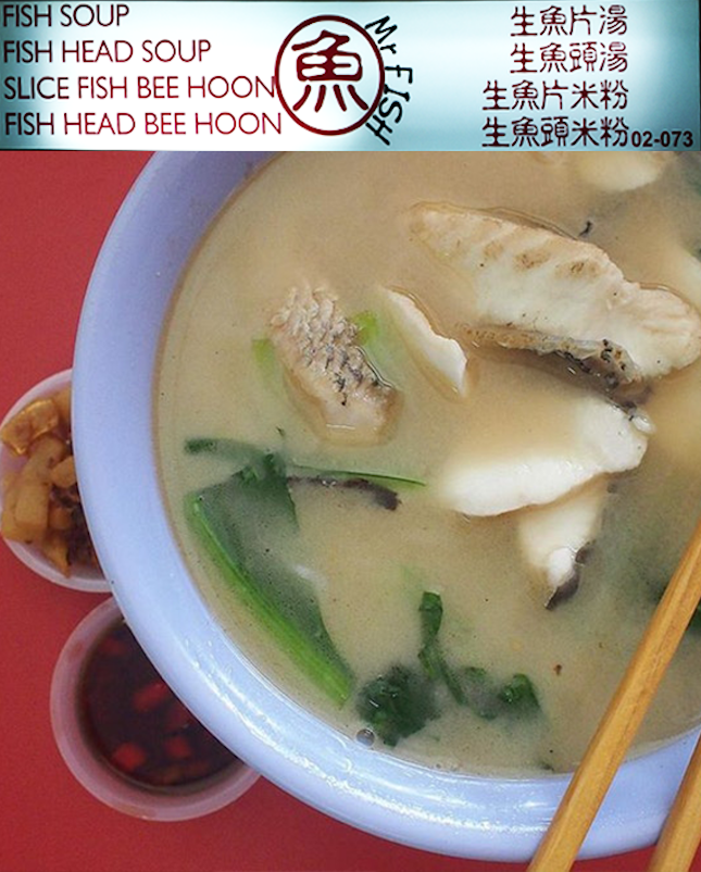 For Winning Fish Soup and Hor Fun